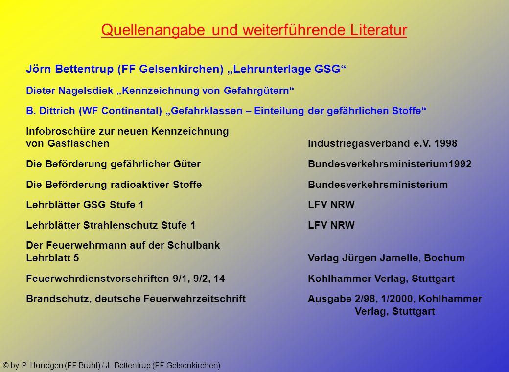 Quellenangabe und weiterführende Literatur