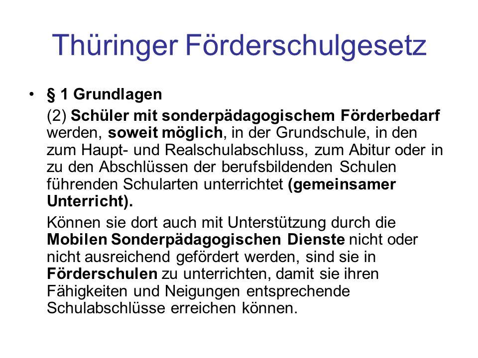 Thüringer Förderschulgesetz
