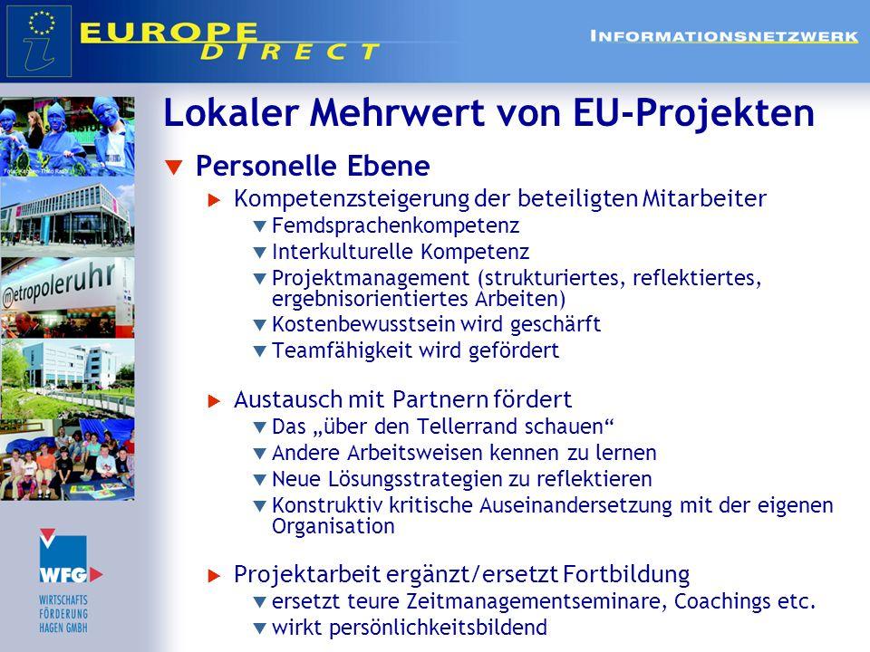 Lokaler Mehrwert von EU-Projekten