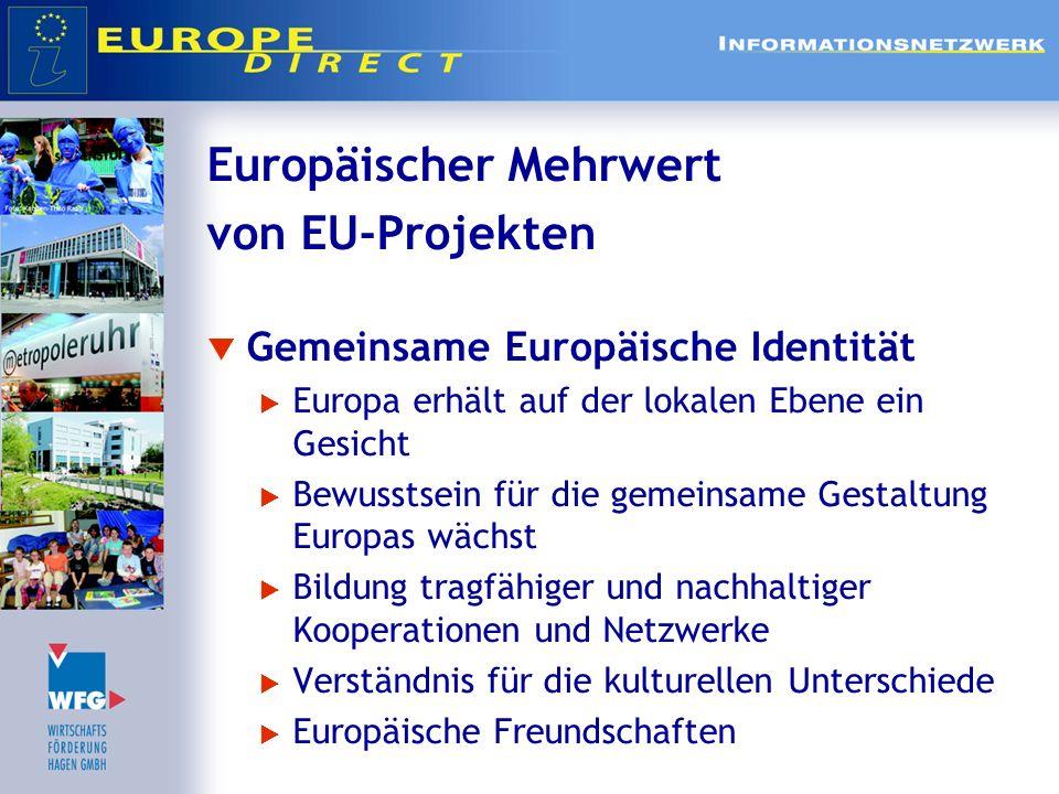 Europäischer Mehrwert von EU-Projekten