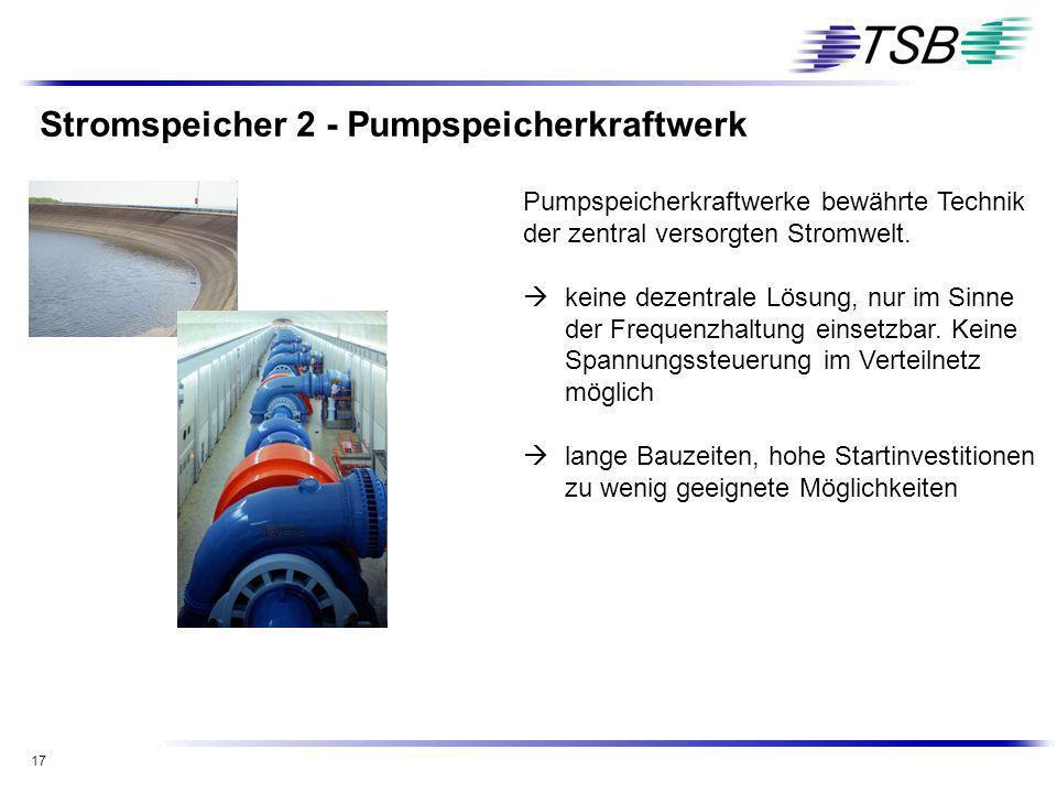 Stromspeicher 2 - Pumpspeicherkraftwerk