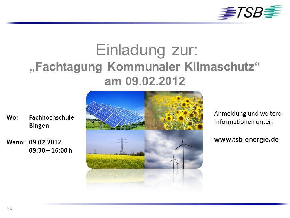"""""""Fachtagung Kommunaler Klimaschutz"""
