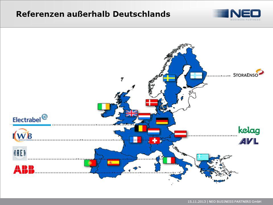 Referenzen außerhalb Deutschlands