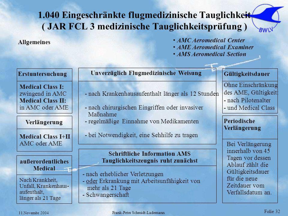 Schriftliche Information AMS Tauglichkeitszeugnis ruht zunächst