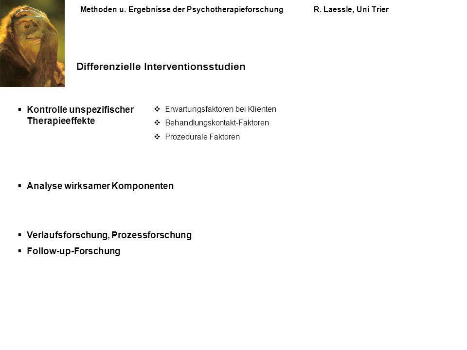 Differenzielle Interventionsstudien