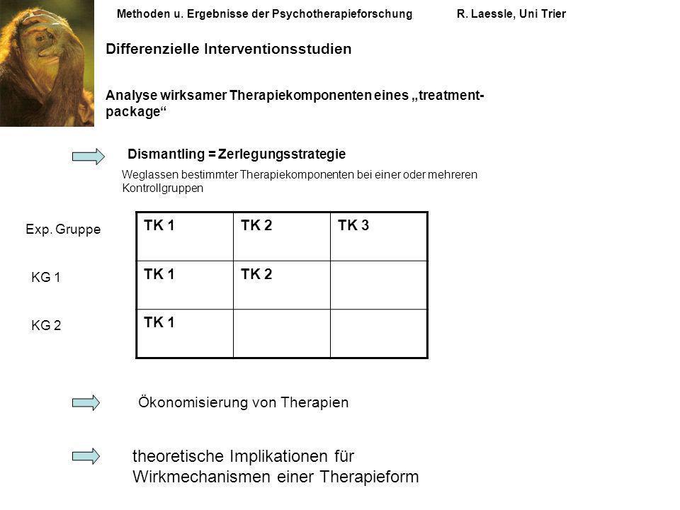 theoretische Implikationen für Wirkmechanismen einer Therapieform