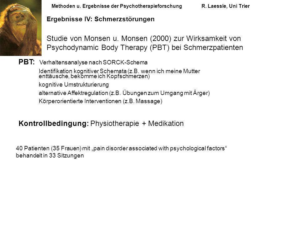 PBT: Verhaltensanalyse nach SORCK-Schema