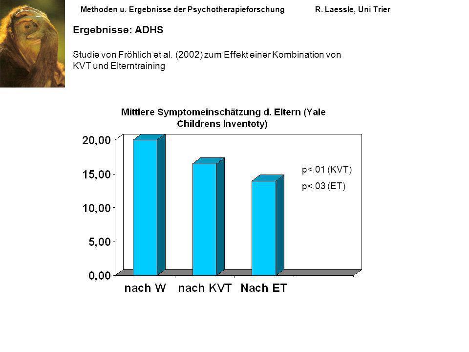 Methoden u. Ergebnisse der Psychotherapieforschung. R