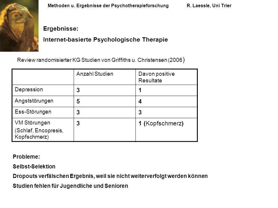 Internet-basierte Psychologische Therapie