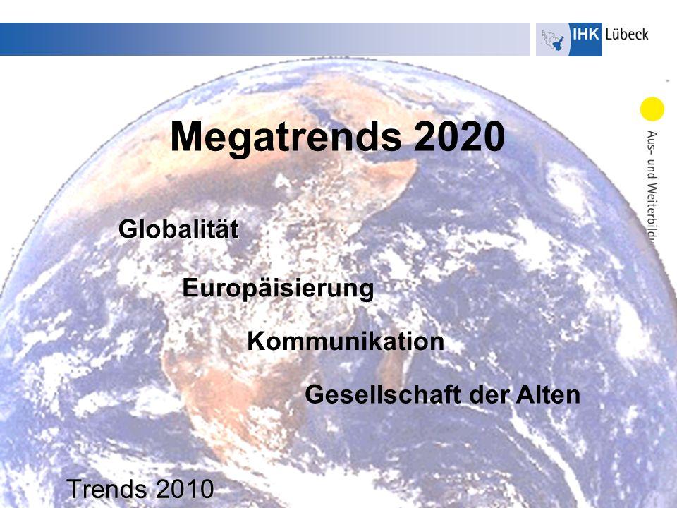 Megatrends 2020 Globalität Europäisierung Kommunikation