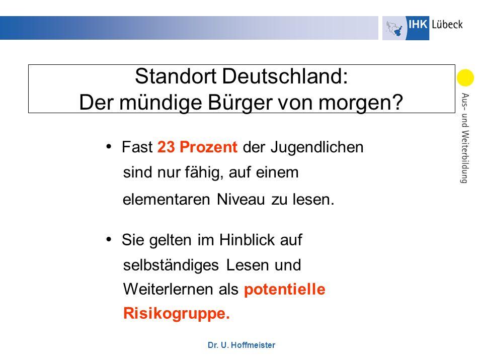 Standort Deutschland: Der mündige Bürger von morgen