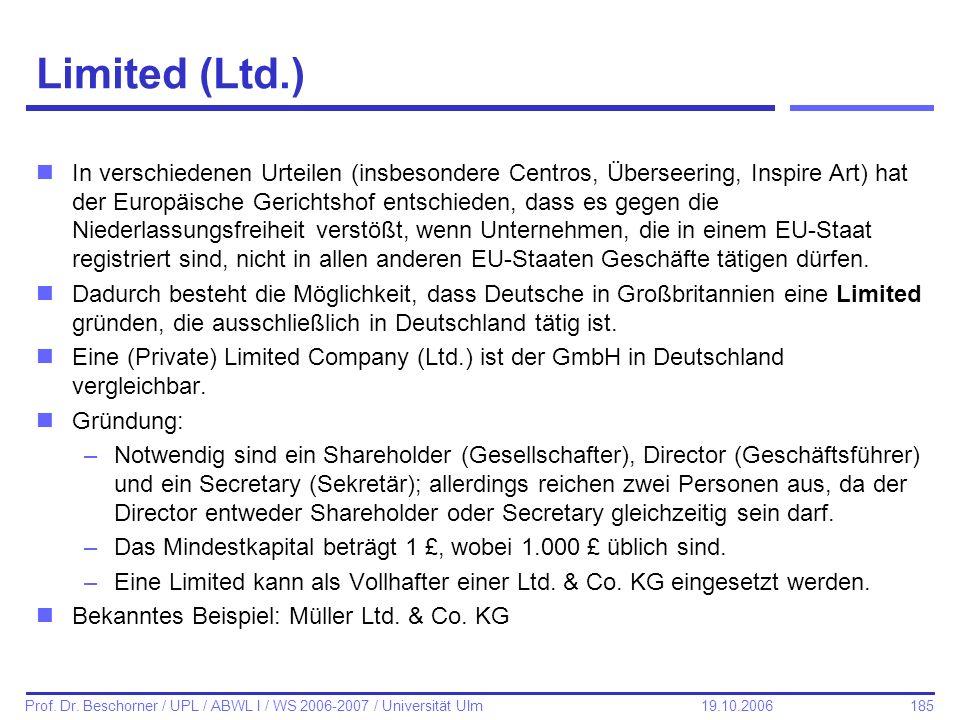 Limited (Ltd.)