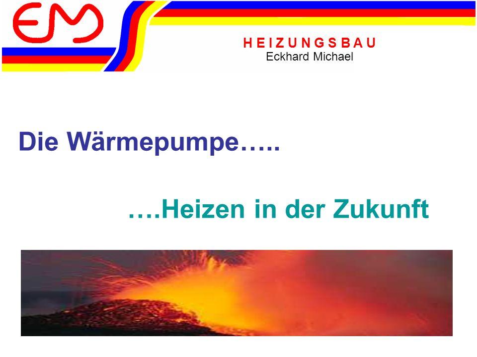 Die Wärmepumpe….. ….Heizen in der Zukunft