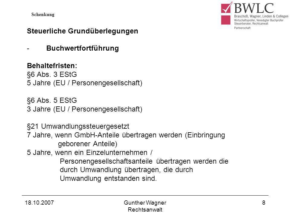 Gunther Wagner Rechtsanwalt