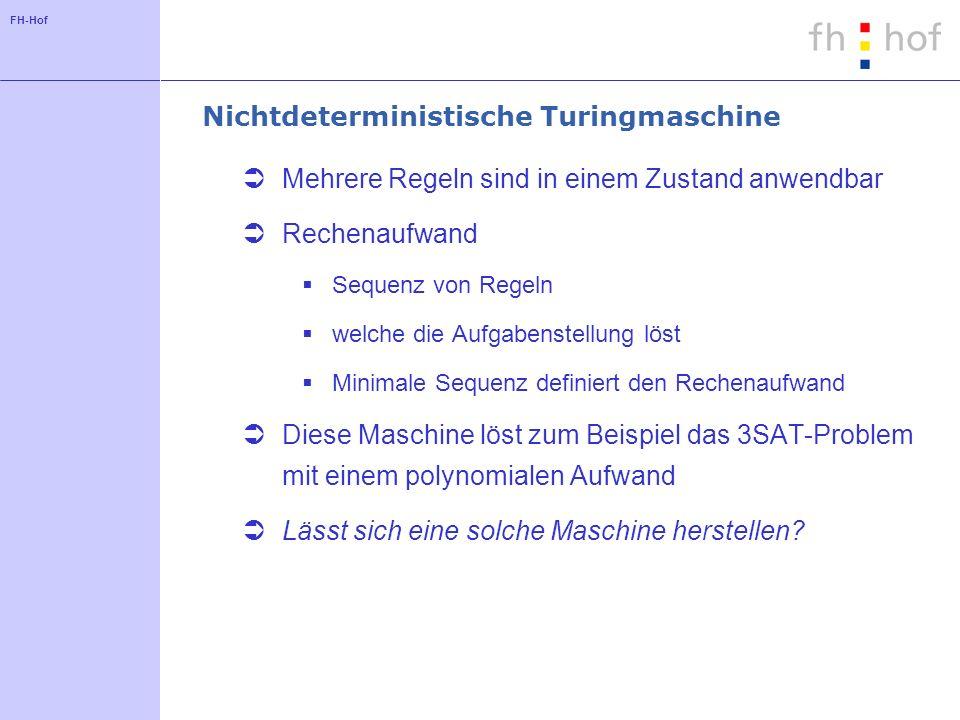 Nichtdeterministische Turingmaschine