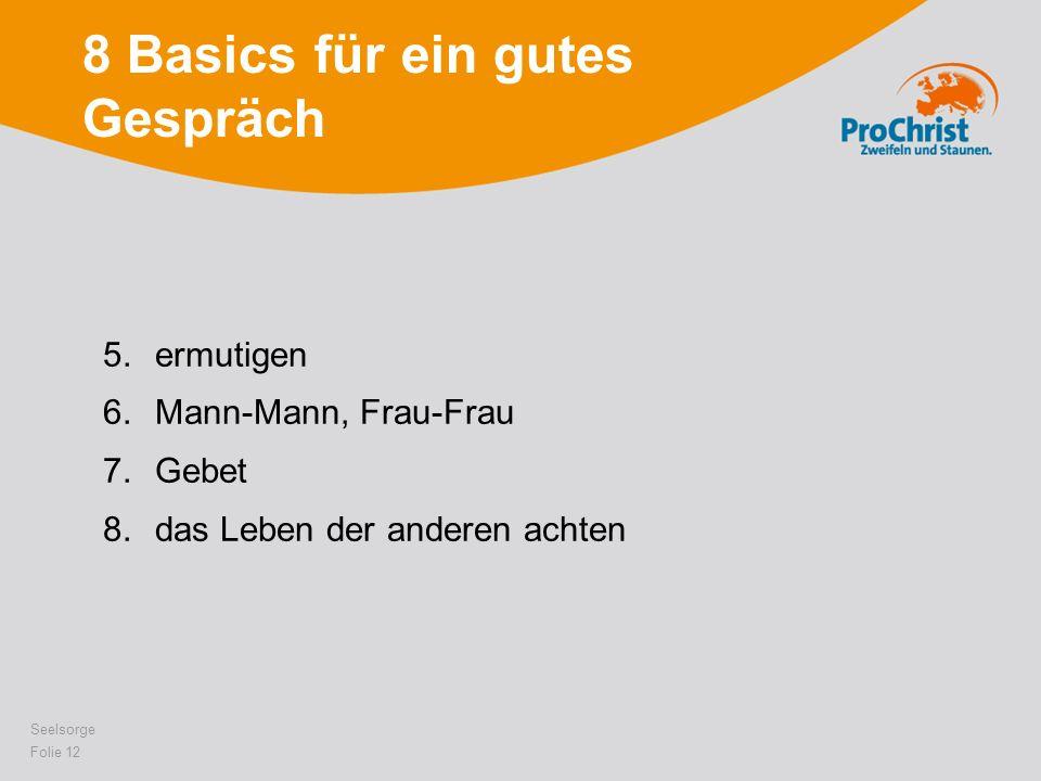 8 Basics für ein gutes Gespräch