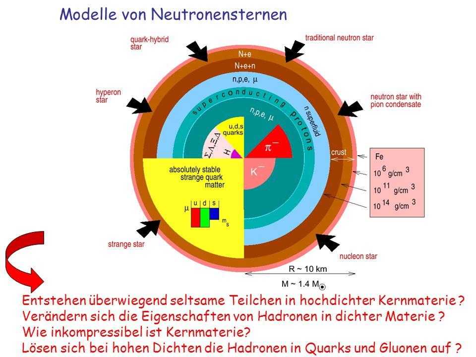 Modelle von Neutronensternen