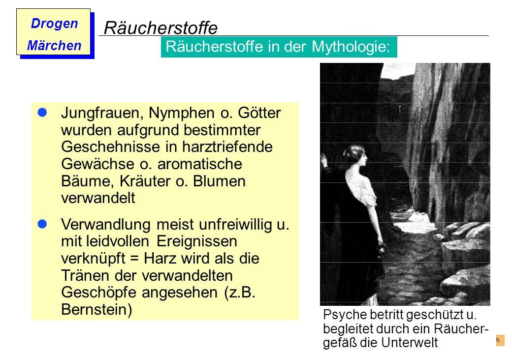 Räucherstoffe Räucherstoffe in der Mythologie: