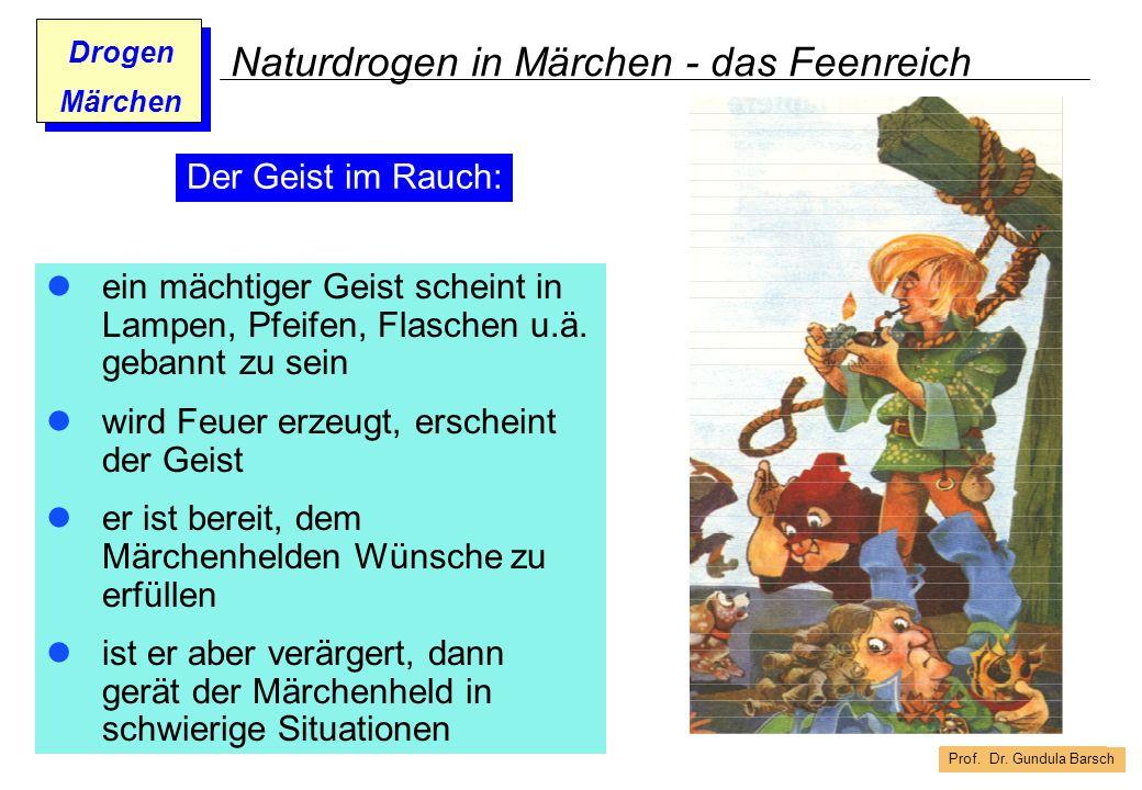 Naturdrogen in Märchen - das Feenreich