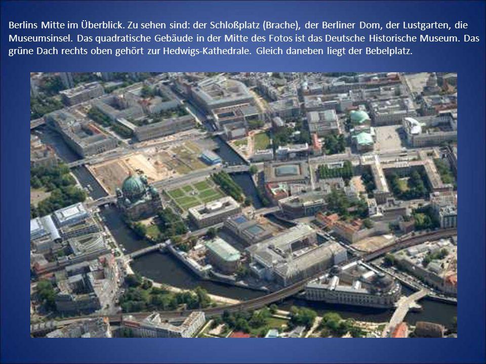Berlins Mitte im Überblick