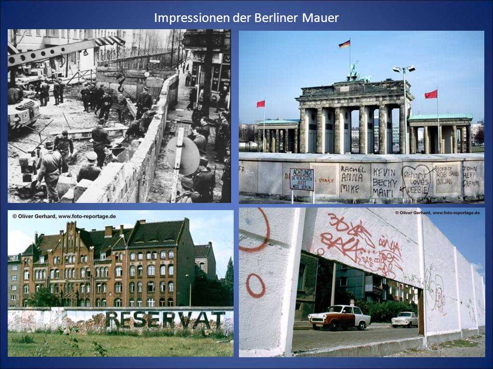 Impressionen der Berliner Mauer