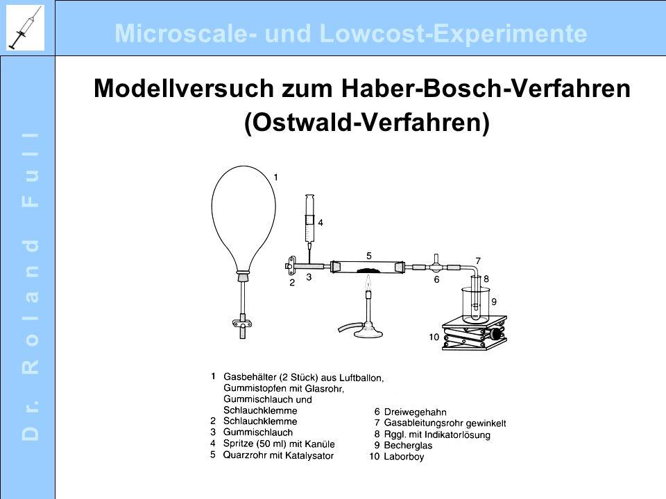 Modellversuch zum Haber-Bosch-Verfahren