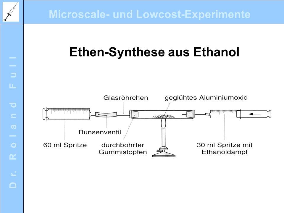 Ethen-Synthese aus Ethanol