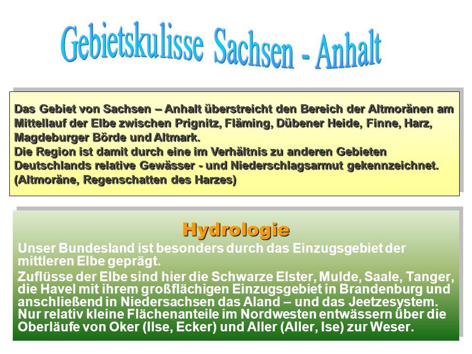 Gebietskulisse Sachsen - Anhalt