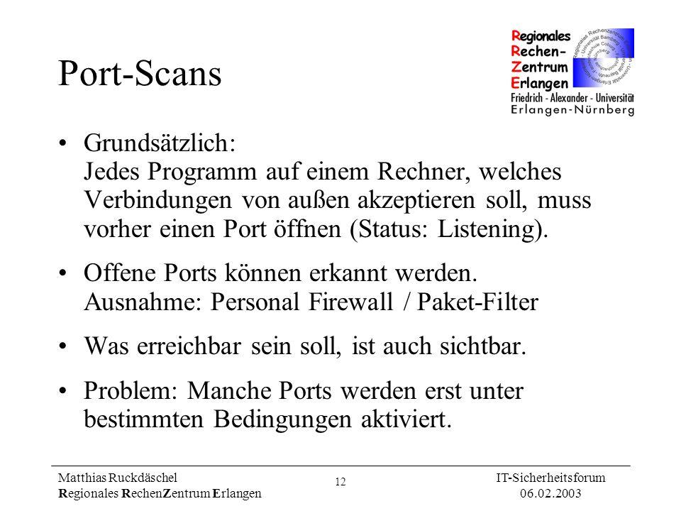 Port-Scans