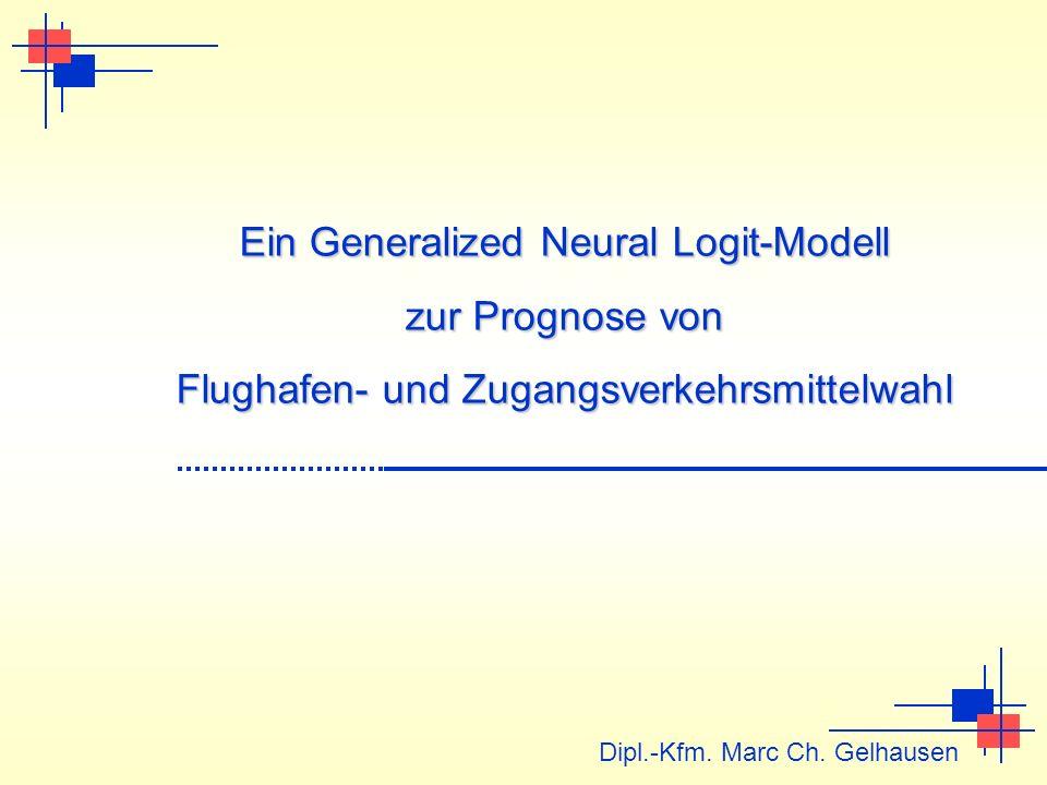 Ein Generalized Neural Logit-Modell zur Prognose von