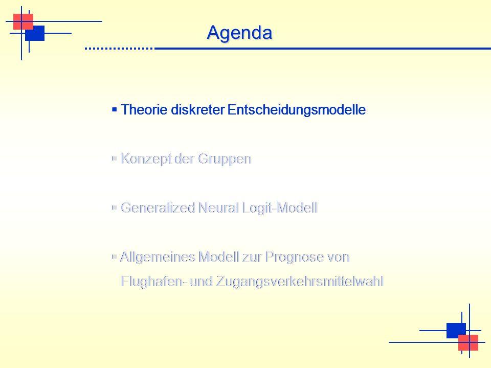 Agenda Theorie diskreter Entscheidungsmodelle Konzept der Gruppen