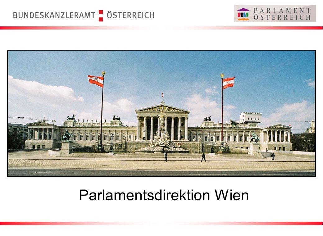 Parlamentsdirektion Wien