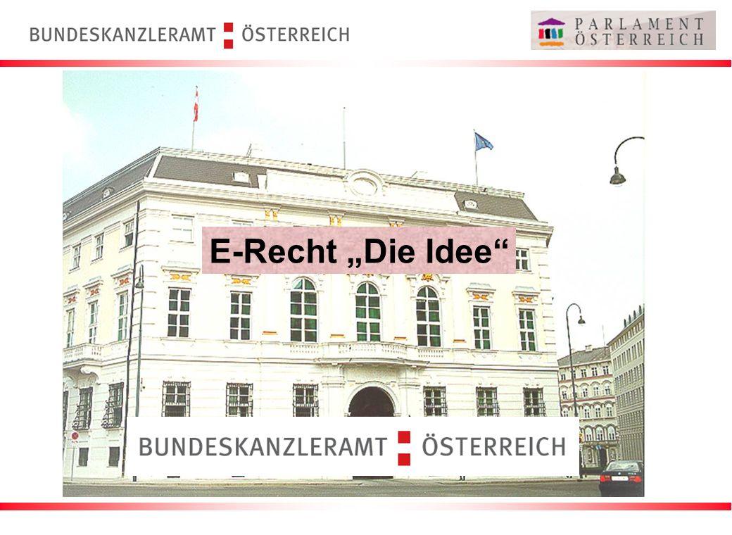 """E-Recht """"Die Idee"""