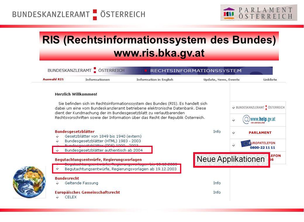 RIS (Rechtsinformationssystem des Bundes)