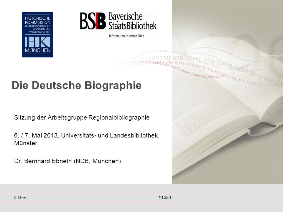 Die Deutsche Biographie