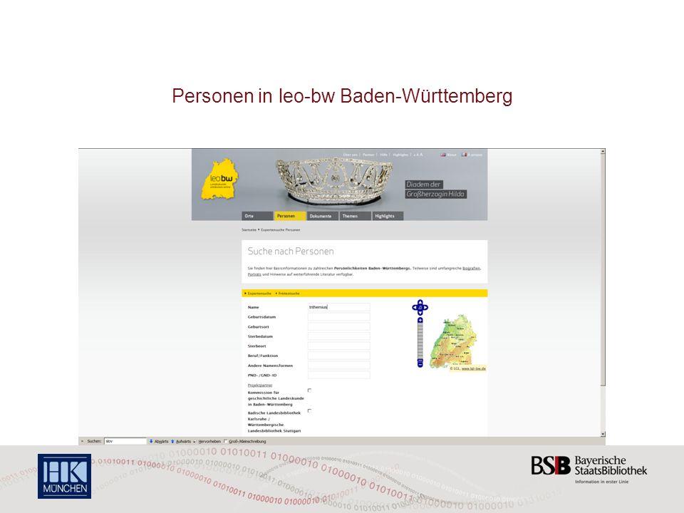 Personen in leo-bw Baden-Württemberg