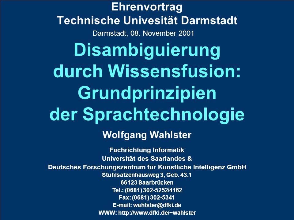 Ehrenvortrag Technische Univesität Darmstadt