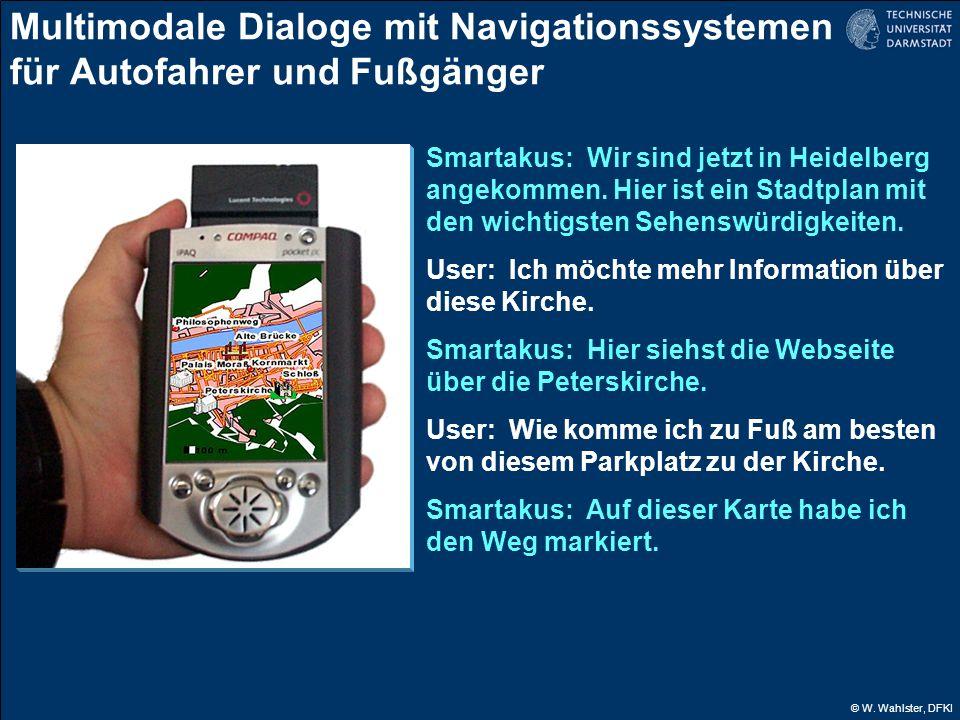 Multimodale Dialoge mit Navigationssystemen für Autofahrer und Fußgänger