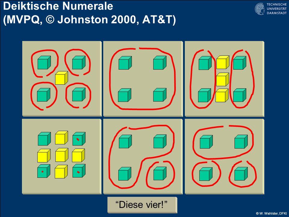 Deiktische Numerale (MVPQ, © Johnston 2000, AT&T)