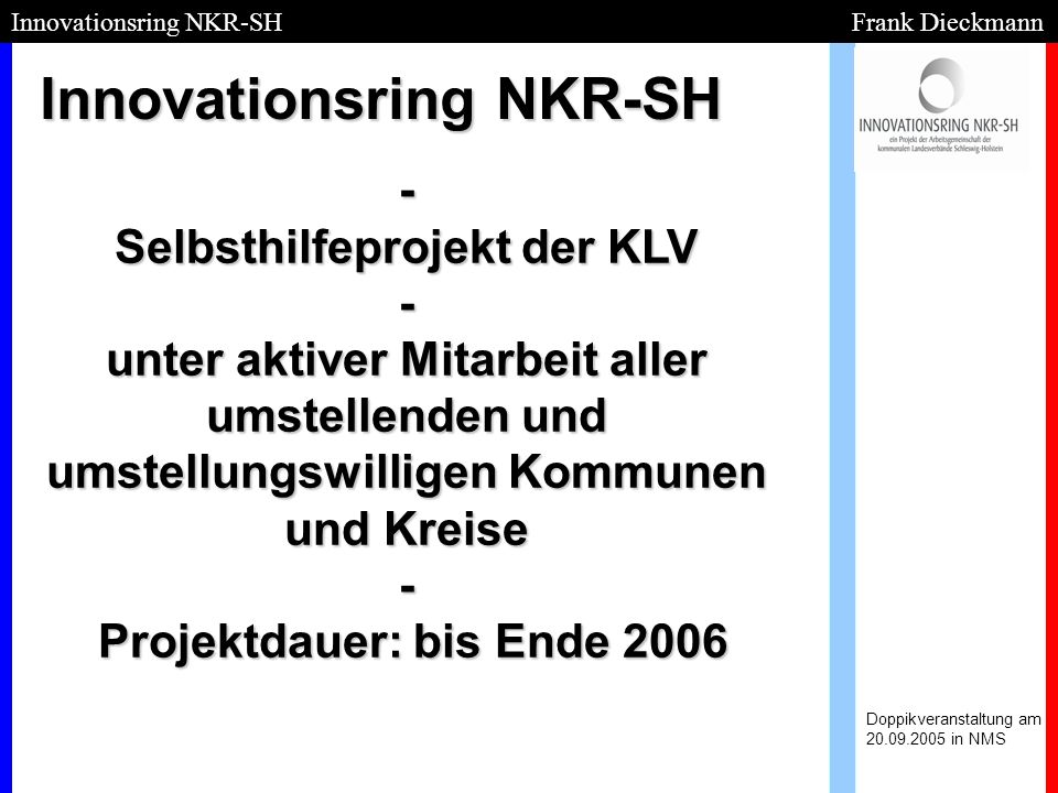 Innovationsring NKR-SH