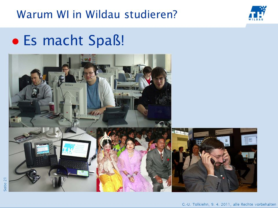 Warum WI in Wildau studieren