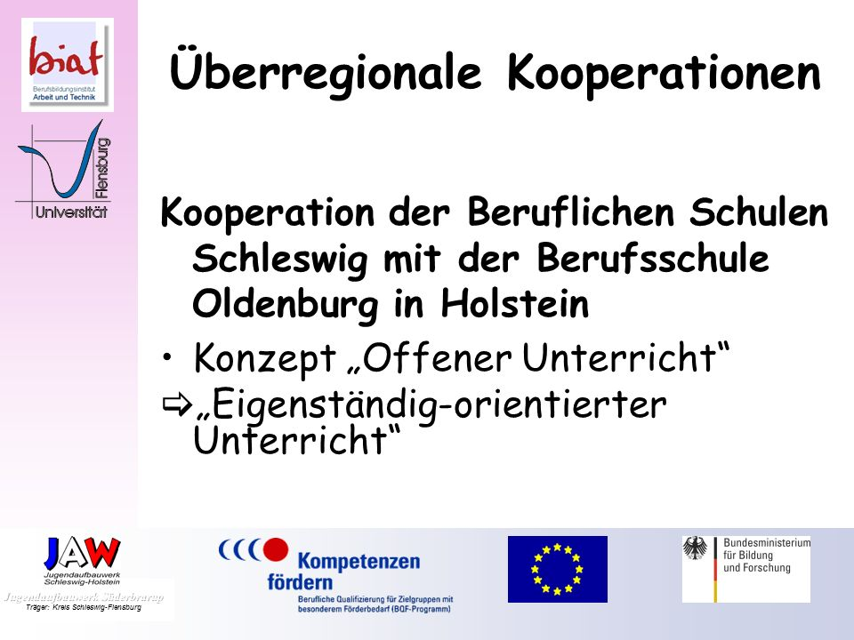 Überregionale Kooperationen