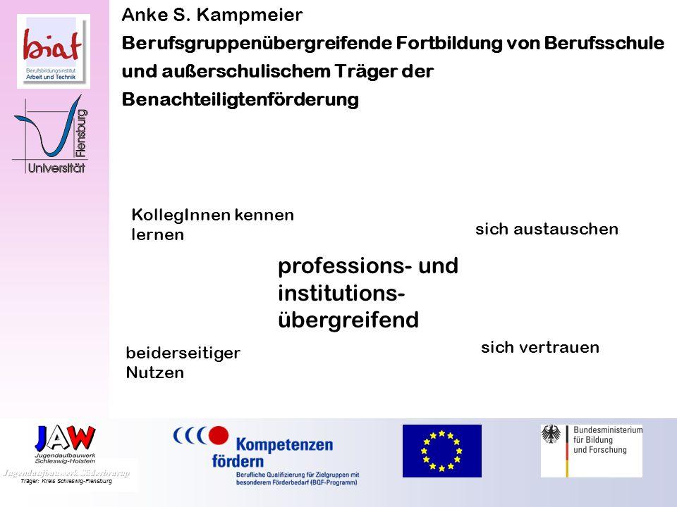 professions- und institutions-übergreifend