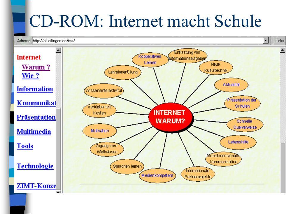 CD-ROM: Internet macht Schule