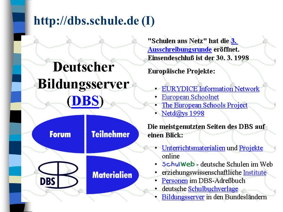 http://dbs.schule.de (I)