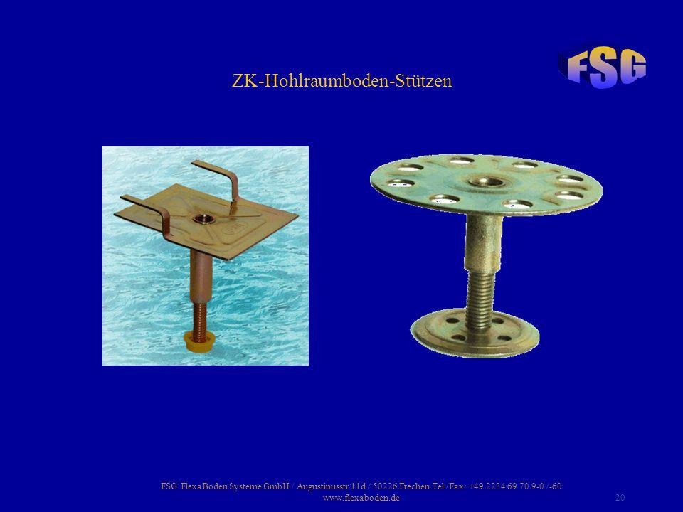 ZK-Hohlraumboden-Stützen