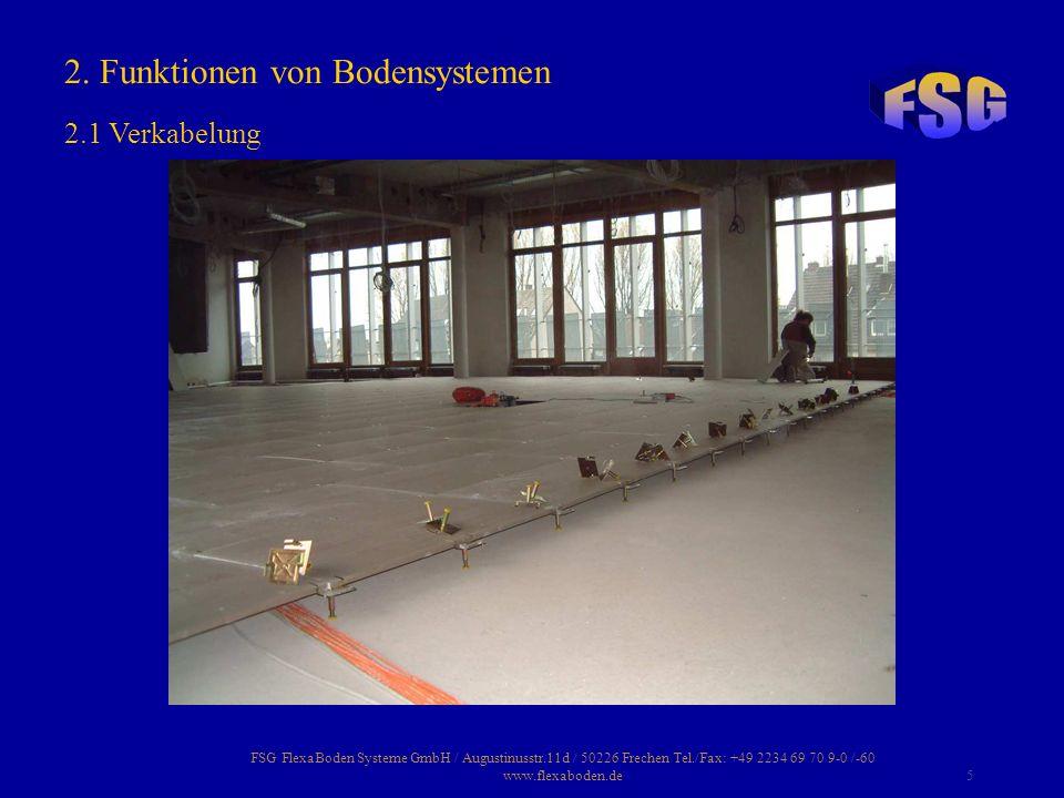 2. Funktionen von Bodensystemen