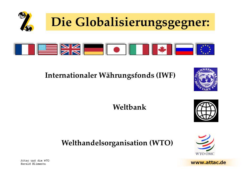 Die Globalisierungsgegner: