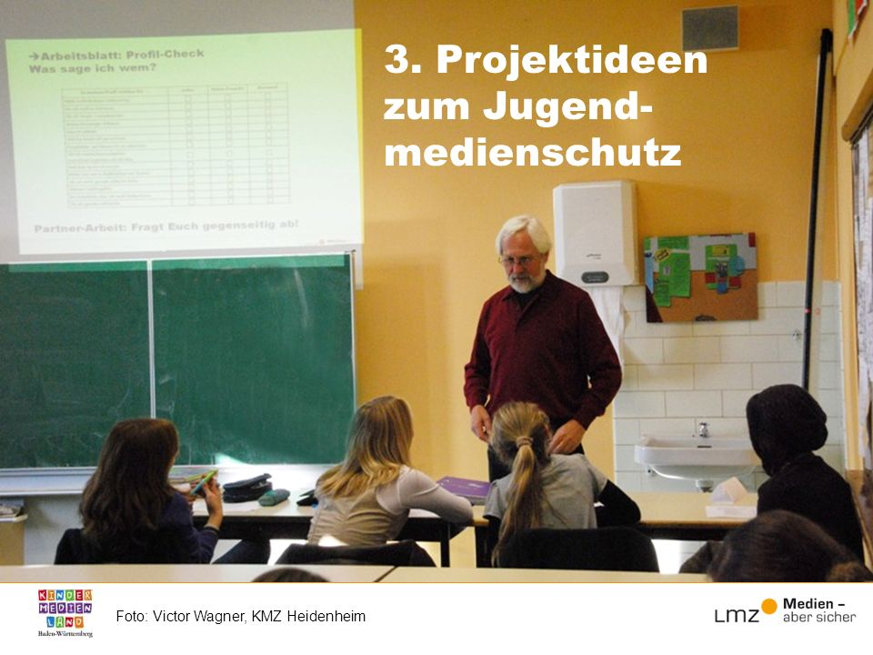 3. Projektideen zum Jugend-medienschutz