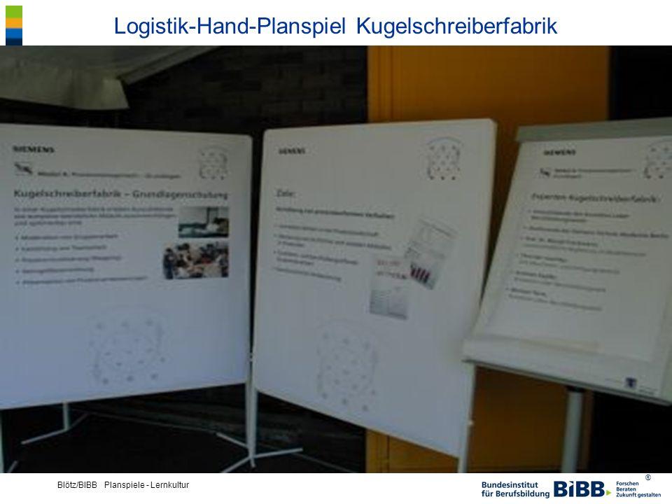 Logistik-Hand-Planspiel Kugelschreiberfabrik